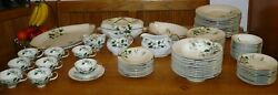 Meito Norleans China Occupied Japan Livonia Dogwood 83 Piece Set Wow