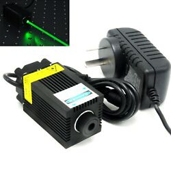 520nm 1000mw Green Dot Focusable Laser Module Powerful 1w Diode 12v Adapter