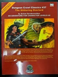 1x Dungeon Crawl Classics 37 The Slithering Overlord Used/good Dungeon Crawl C