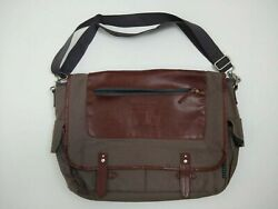 Crossbody Messenger Bag Vintage Cotton Field & Co Collection National Guard