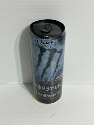 Monster Energy Drink Extra Strength Black Ice Relabel Can Sku 1214 Dented