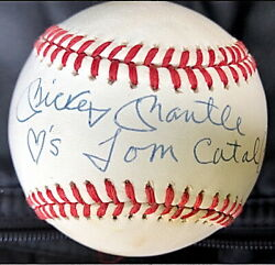 Mickey Mantle SignedAuto