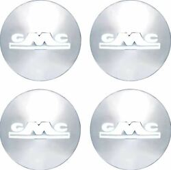 Oer Reproduction Stainless Steel Hub Cap Set 1947-1953 Gmc Pickup Truck 1/2 Ton
