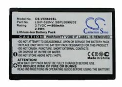 Replacement Battery For Lg 235c Cell Phone 3.70v