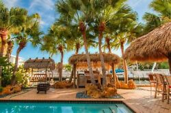 Florida Keys Two Story 55 with Pool and Boat Dock