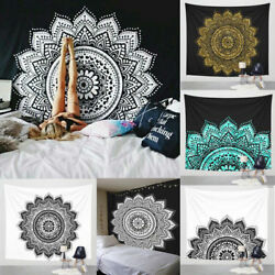 Indian mandala tapestry hippie wall hanging Bohemian bedspread dorm decor throw