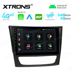 For Mercedes-benz E-w211 W219 7 Android 10.0 Car Stereo Dvd Gps Radio Head Unit