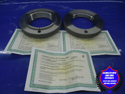 4 3/4 4 N 2 Buttress Thread Ring Gages 4.75 4.0 Go No Go Pds= 4.5920 4.5799 Butt