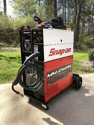 Nice Snap-on Tools Mm250sl Mig Gas Welder With Extras Muscle Mig .