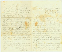 Civil War Letters From Richard Andrews, White Captain In The U.s. Colored Troops