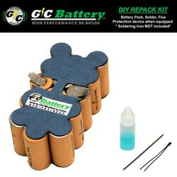 Replacement Battery Internals For Snap-on 18v Ctb4185, Ctb4187 Diy Repack Kit