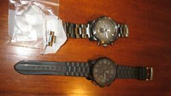 Fossil Watches Jr1437 And A Jr1354 Mens