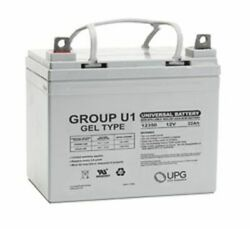 Replacement Battery For Mtd 1848f Walk Behind Lawn Tractor And Mower 31ah Gel