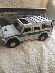2004 Hess Toy Truck Sport Utility Vehicle And Motorcycles New In Box