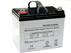 Replacement Battery For Simplicity Citation 25/52 Zero-turn Mower 340cca 12v