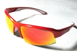 NEW GSX5D GANDER MOUNTAIN SHINEY ORANGE-ORANGE MULTIFLECION SUNGLASSES AUTHENTIC