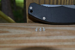 Emerson Knife Stainless Screw Set for Handle Scales CQC 7 3 screws