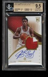 Bgs 9.5 2012 Immaculate Collection Patch Auto 125 Jimmy Butler Rookie Rc Rare
