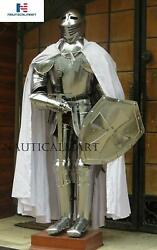 Knight Suit Of Armor Medieval Revival Suit Completely Wearable Armor