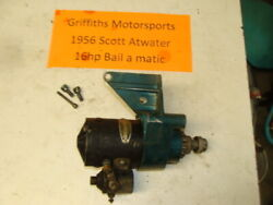 1956 Scott Atwater Bail A Matic 16hp Outboard Electric Starter Motor Start Oem