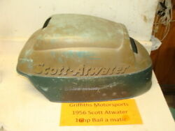 1956 Scott Atwater Bail A Matic 16hp Outboard Top Hood Cowl Engine Cover Cowling