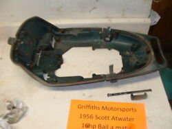 1956 Scott Atwater Bail A Matic 16hp Outboard Lower Cowl Pan Bowl Cowling