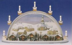 Candle Arches Seiffener Christmas Electric Bxhxt 27 58x15 1116x6 78in New