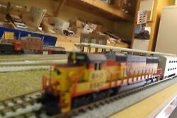 N-scale New Atlas Chessie 8580 Sd-50 Dcc Ready