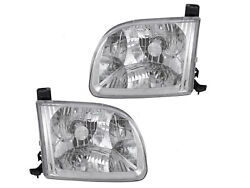 For Headlight 00 01 02 03 04 Tundra Access Cab Passenger Right + Driver Left