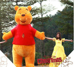 Advertising Inflatable Winnie the Pooh Mascot Costume Blow Up Suit Animal Outfit