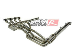 Obx Bbc Exhaust Header Manifold For Chevy 65-74 Corvette 396 427 454 Cu In.