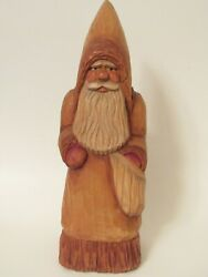 1992 Paul Bolinger Original Thor Santa Father Christmas Linden Oil Stained 12