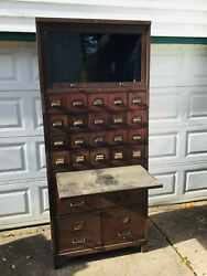 Antique Stackable File Cabinet Art Metal Jamestown Ny For Eb Holmes Buffalo Ny