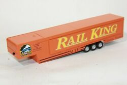 Mth 30-50004 Rail King Big Mo Lighted Trailer, Train Layout Inside Nos