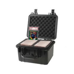 Graded Card Storage Box Deep Travel Size Waterproof Case Slab Holder And Protector