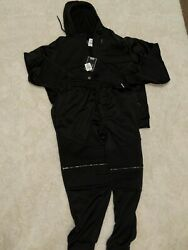 CSG Champs Sportswear Clutch Collection 2XL Cuff Pant And Fullzip Hoodie Black $31.50