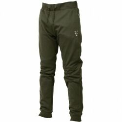 Fox Collection Green And Silver Lightweight Joggers - Jogginghose