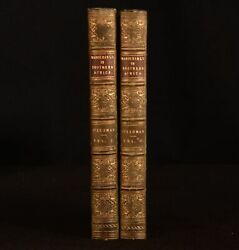 1835 2vol Wanderings And Adventures In The Interior Of Southern Africa A Steedma