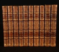 1814-18 10vol The Poetry Of Robert Southey Joan Of Arc Thalaba The Destroyer