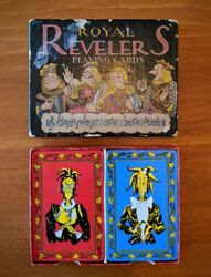 Vintage Royal Revelers Playing Cards Brown Bigelow Ace Of Spade Prohibition 1934