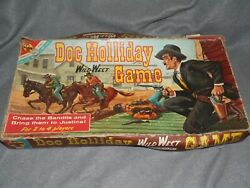 Vintage Doc Holliday Wild West Game 1960 Transogram Toys And Games