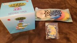 Rugrats Cookie Cutter Stamp Set Reptar On Ice Kitchen Hey Arnold Magnet Lot