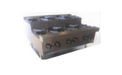 New 48 Step Up Gas Hot Plate 8 Open Burner Commercial Stratus Shp-48-su 3265