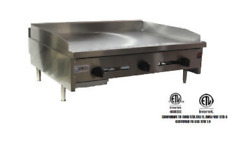New 36 Snack Size Griddle Flat Top Plancha Grill Stratus Ssmg-36 3267 Usa Nsf