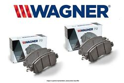 [front + Rear Set] Wagner Thermoquiet Ceramic Disc Brake Pads Wg97845