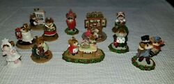 Wee Forest Folk People Christmas Collection