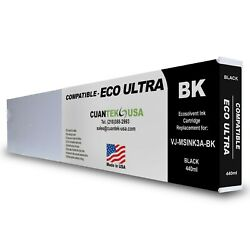 Eco Ultra Msink3a Compatible Black 440ml Ink Cartridge For Mutoh - Made In Usa