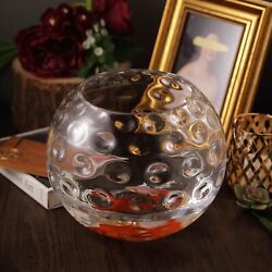 2 Pcs 8-inch Tall Clear Glass Hobnail Centerpiece Vases Wedding Decorations Sale