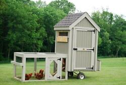 Colonial Gable Run Chicken Coop - Perfect For Backyard Chickens. Made In Ohio.
