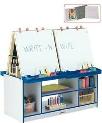 Rainbow Accents 4 Station Easel Teal